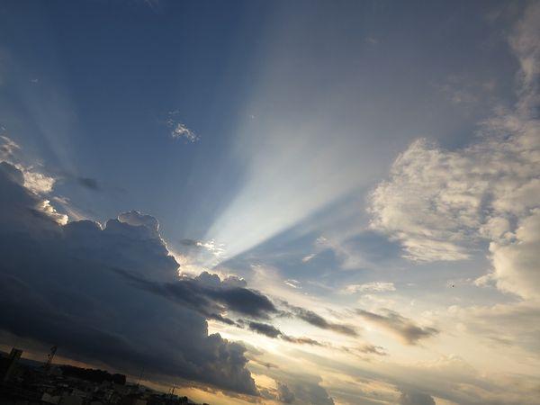 Облака и свет